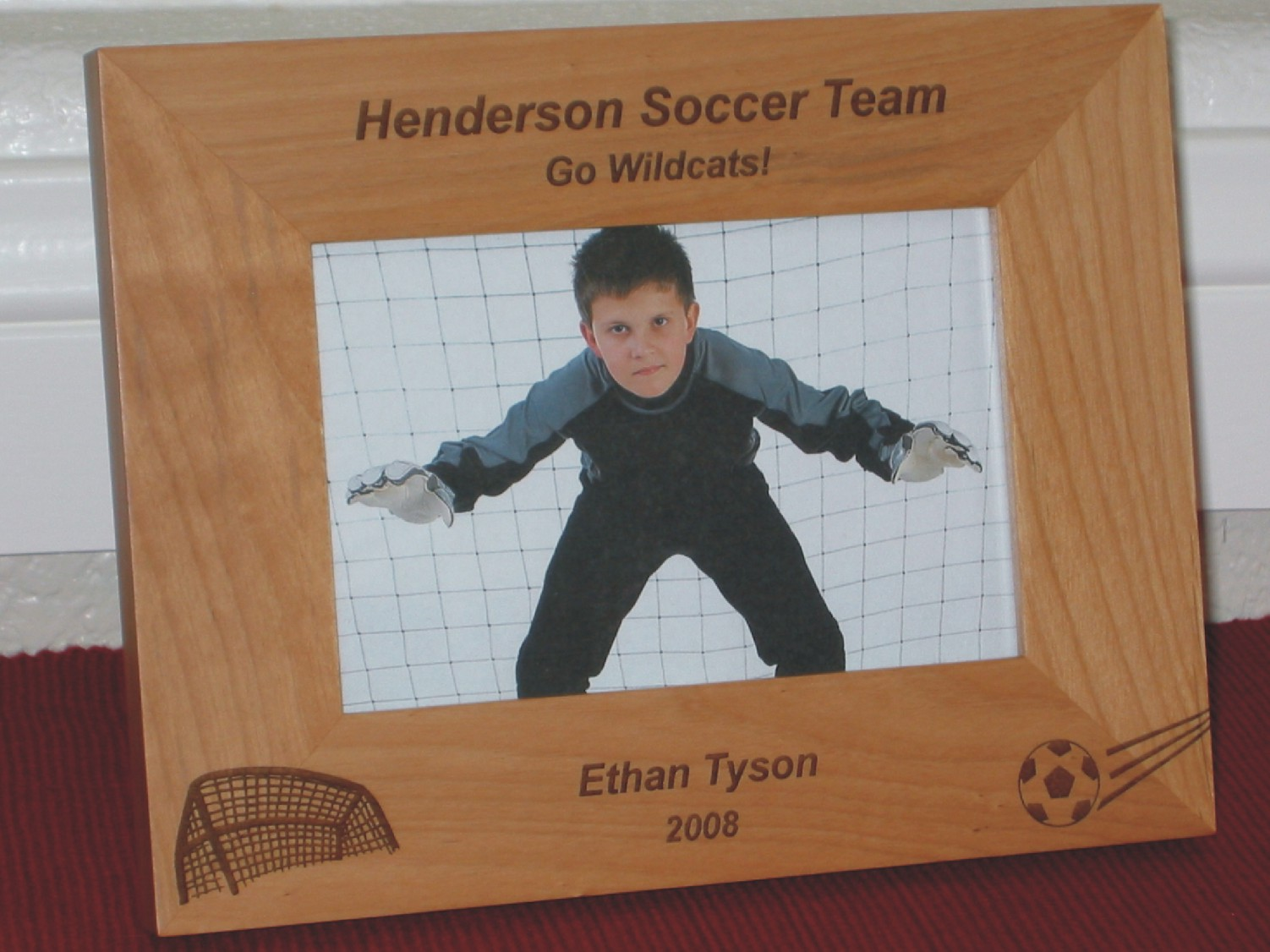 Soccer picture frames personalized soccer picture frames soccer picture frames jeuxipadfo Images
