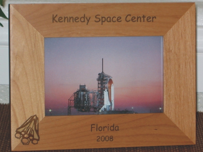 Space Shuttle Picture Frame