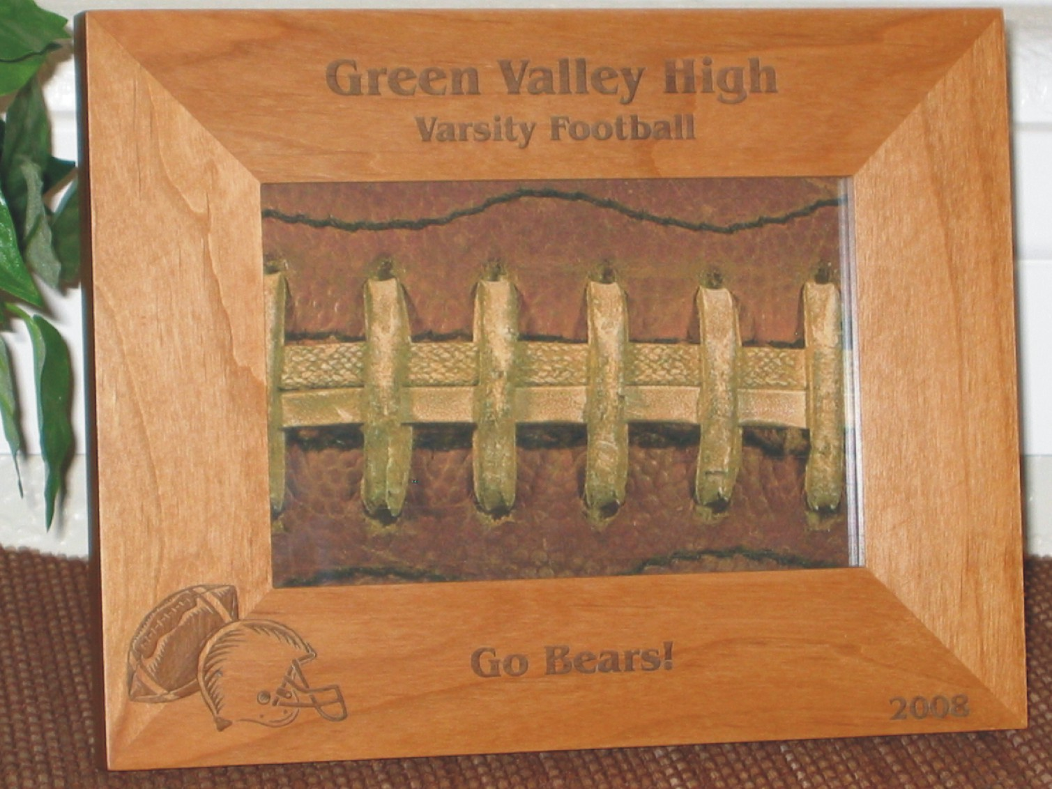 Personalized engraved picture frames and custom gifts sports frames jeuxipadfo Images