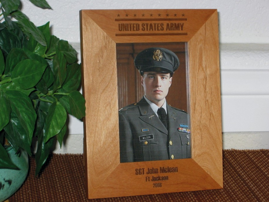 Military Picture Frames - Personalized Military Picture Frames