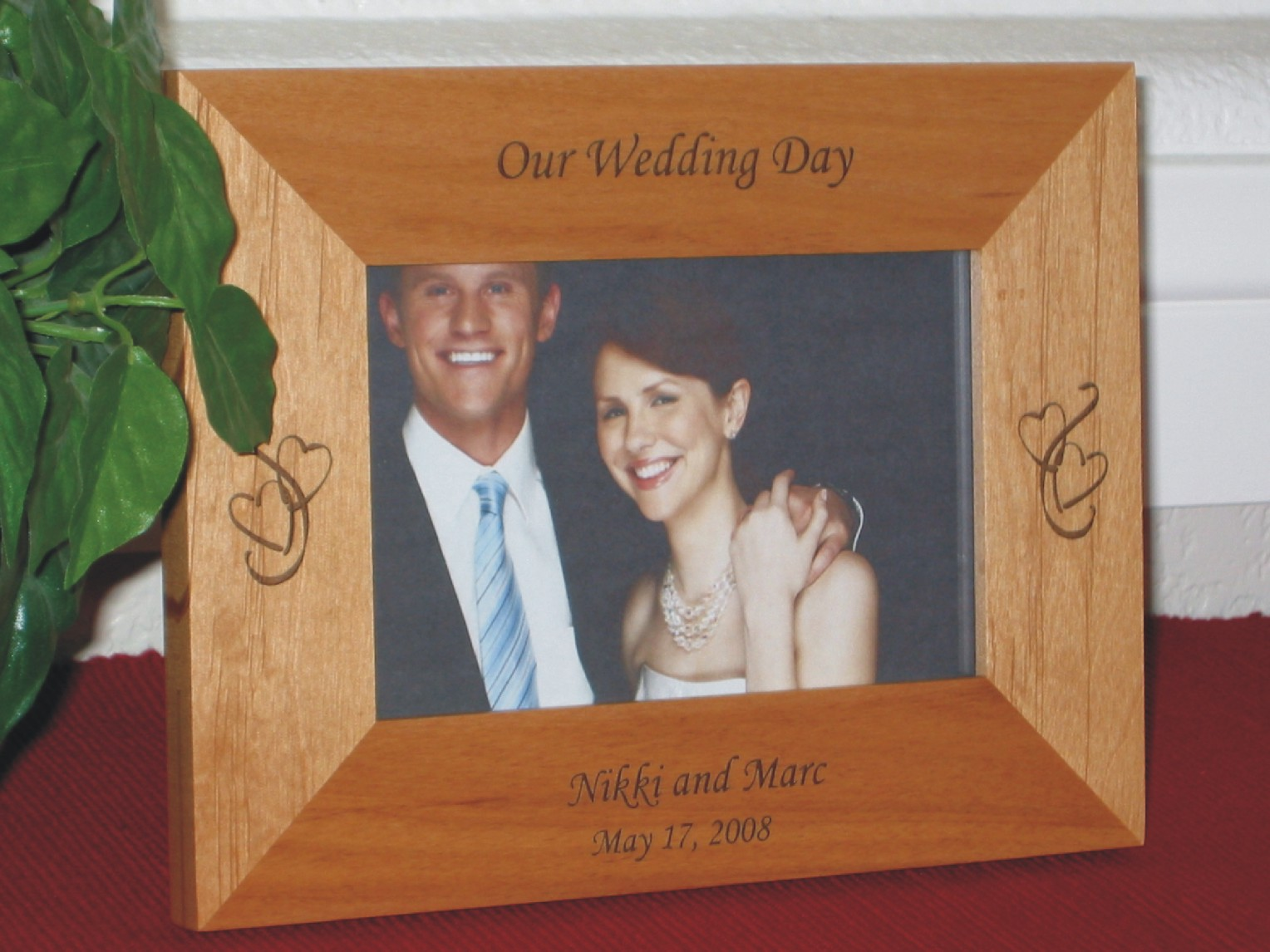Wedding Picture Frames - Personalized Wedding Picture Frames