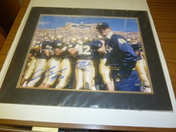 1988 Notre Dame Signed <br> 16x20 Photo