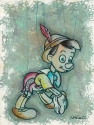 A Boy To Be <br> Pinocchio Canvas