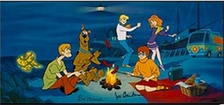 A Clue for Scooby Doo signed <br><font color=red>Please Call