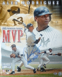 Alex Rodriguez 2005 MVP Photo