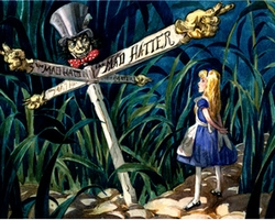 All Roads Lead To The Mad Hatter Small