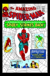 Amazing Spiderman<br> #19 Canvas