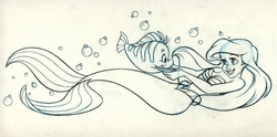 Ariel and Flounder 5