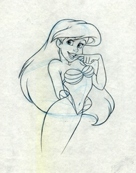 Ariel original Drawing