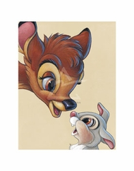 Bambi and Thumper - Best of Friends