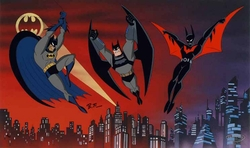 Batman...and  Beyond<br><font color=red>Please Call
