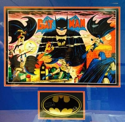 Batman The Beginning Limited Edition Lithograph