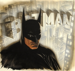 Batman The Legend <br> (Canvas) <br>