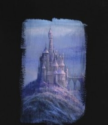Beauty and the <br>Beast Castle Canvas