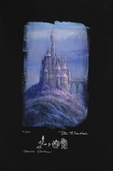 Beauty and the Beast<br> Castle Canvas(Deluxe)