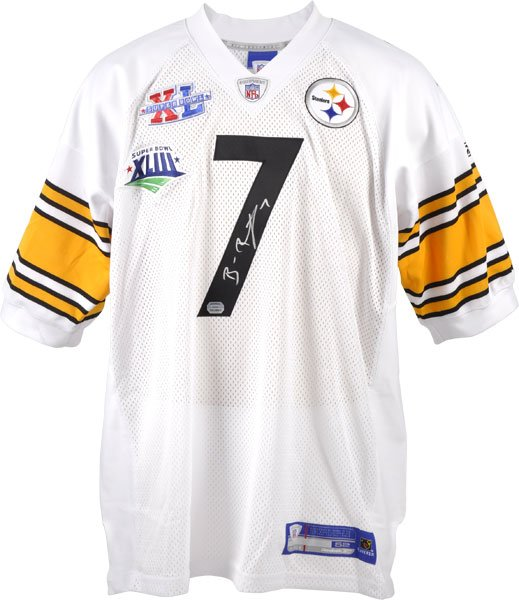 4135f56f60a Ben Roethlisberger Signed Jersey - Football at Choice Collectibles ...