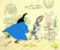 Bewitched Bunny 1954 - Bugs Bunny Art