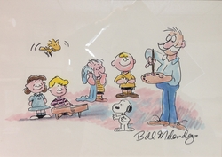 Bill Melendez and the Peanuts