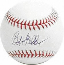 Bob Feller Signed Baseball