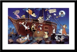 Boston Tea Party <br> Hanna Barbera