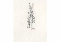 Bugs Bunny Prod Drawing #2 - Production Drawings