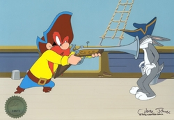 Bugs Bunny & Yosemite Sam with Musket