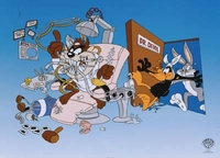 Bugs Daffy & Taz - Out of Patients - Warner Bros. By Clampett Studios
