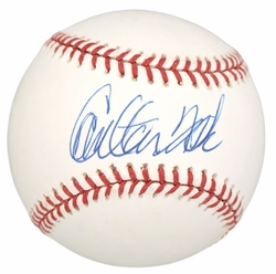 Carlton Fisk <br> Signed Baseball