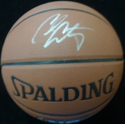 Carmelo Anthony Hand Signed Basketball