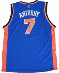 Carmelo Anthony Signed Jersey