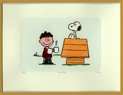 Charlie Brown Etching