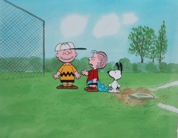 Charlie Brown, Linus and Snoopy