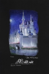 Cinderella Castle <br> Canvas (Deluxe)