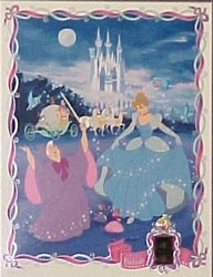 Cinderella Lighted Inset Film- SOLD OUT
