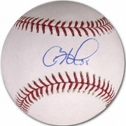 Cole Hamels<br> Signed Baseball