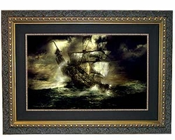 Cursed Voyage Large Canvas