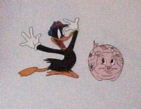 Daffy Duck - Production Cels