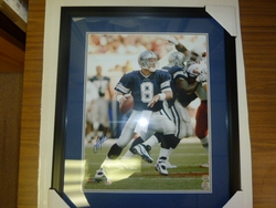 Dallas Cowboys Troy Aikman <br> Signed 16x20 Photo Framed