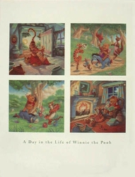 Day In The Life Of Pooh Poster