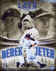 Derek Jeter & Lou Gehrig <br>Photo Collage