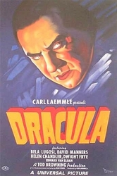 Dracula, Lugosi, Movie Poster Painting