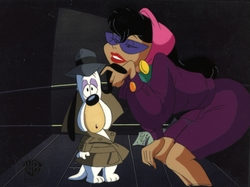 Droopy and Girl