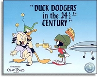 Duck Dodgers In The 24 1/2 Century - Chuck Jones Sericels