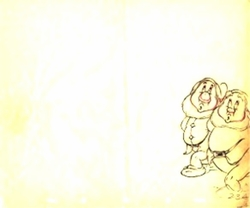 "Dwarfs from ""Snow White""(1937)<br> Prod Drawing #23A"
