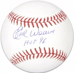 Earl Weaver <br>Autographed Ball