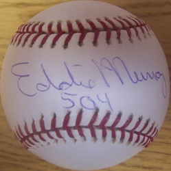 Eddie Murray Signed Baseball
