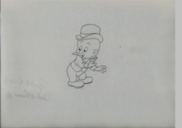 Elmer Fudd Signed Robert & Charles McKimson - Production Drawings