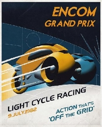 Encom Grand Prix Canvas