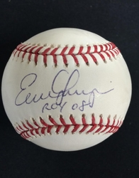 Evan Longoria  Signed Baseball