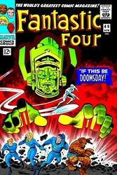 Fantastic Four 49 Canvas